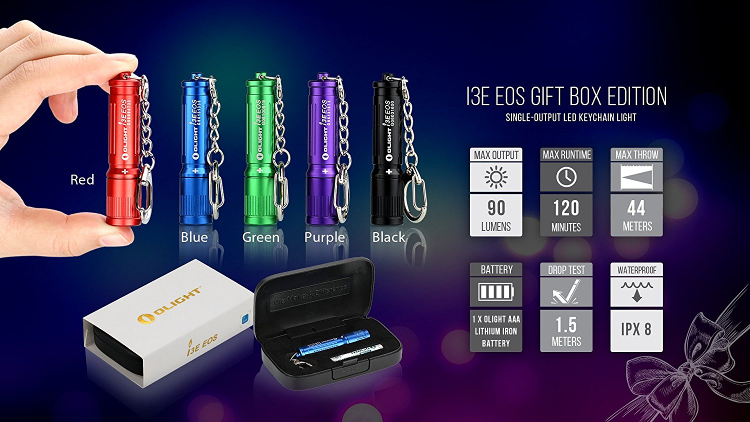 Olight I3E EOS (Gift Box) Edition now available at the ...